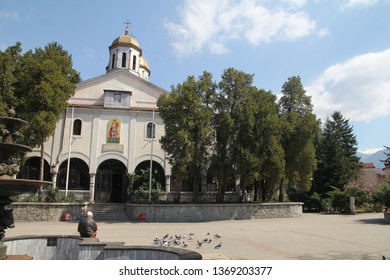 "The temple ""St. George the Victorious"" in Dupnitsa is unique with its iconostasis and impressive dimensions of the main icons. It was consecrated in 1895 by the Samokov Metropolitan Dositeus."