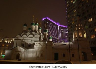 The temple of St. Simeon on Novy Arbat in Moscow