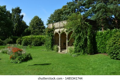 A Temple style summer house