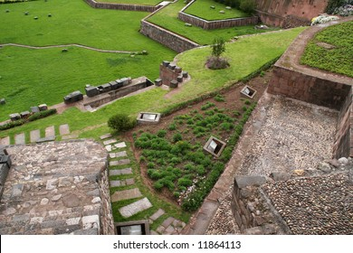 Temple of the Sun or Koricancha is located in the southern part of the city of Cusco, Peru