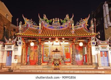 Temple of Taiwan Capital Deity,Tainan City,Taiwan