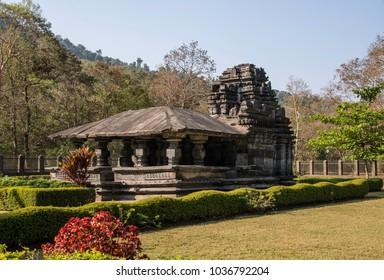 Temple in Tambdi Surla, Goa