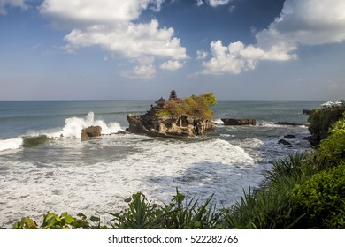 Temple Tanah lot in bali indonesia