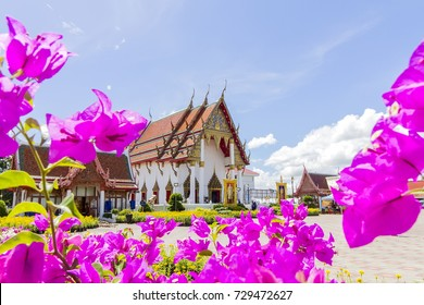 The temple in Tha Luang in Phichit province, Wat Tha Luang is the most visited Buddhist monasteries in the entire province at Muang Phichit, Phichit Thailand