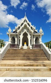The temple in Thailand.