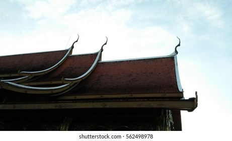 temple in Thailand .garuda