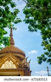 Temple in Thailand Nakornsrithammarat.