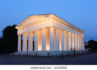 The temple of Theseus at Viennas Garden