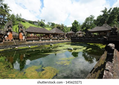 The temple of Tirta Empul at Tampaksiring on the island of Bali, Indonesia