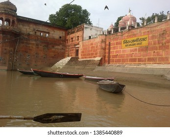 Temple town of kashi on River Ganga