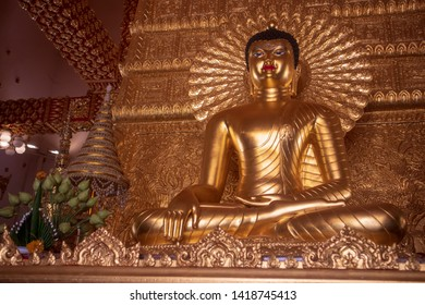 Temple in Ubon Ratchathani of thailand