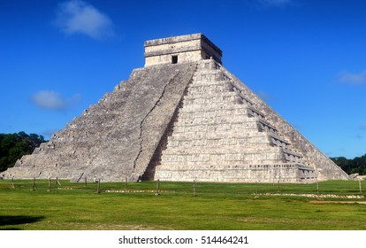 Temple warriors. Chichen itza .yucatan