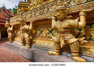Temple Wat Bang Riang, Phang Nga, Thailand
