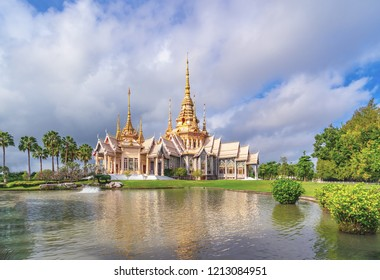 Temple at Wat None Kum in Nakhon Ratchasima province Thailand