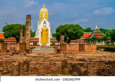 Temple of Wat Phra Si Rattana Mahathat, Phitsanulok, Thailand