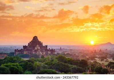 The  Temples of Bagan(Pagan), Mandalay, Myanmar