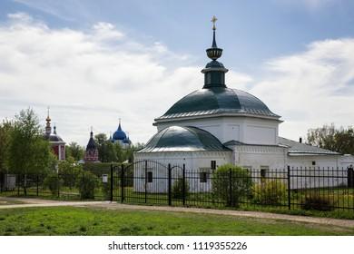 Temples of Suzdal, cityscape, Russia