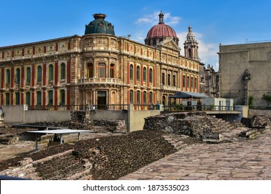 Templo Mayor was the main temple of the Mexica peoples in their capital city of Tenochtitlan, which is now Mexico City