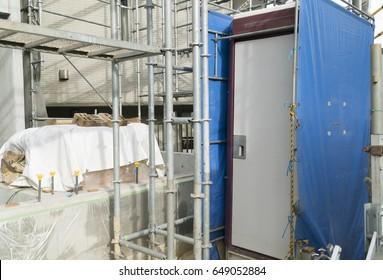 Temporary toilet