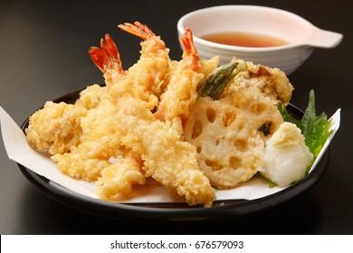 Tempura, Deep-fried Fish and Vegetables