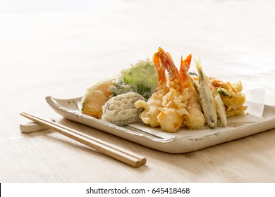 Tempura, homemade