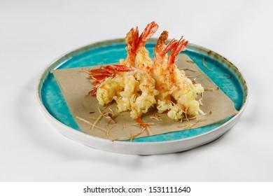 Tempura pacific shrimps from Japan