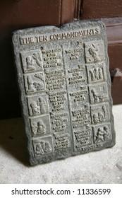 Ten Commandments - St. Mary's Church, Fort St. George, Chennai, India