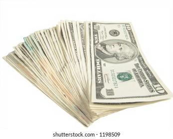 Ten Dollar US Bills
