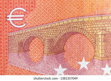 ten euro bank note, finance currency close up detail