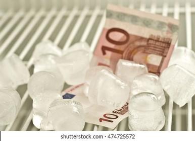 Ten euro in the fridge