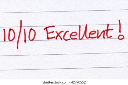 Ten out of ten excellent.