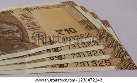 Ten rupees indian currency