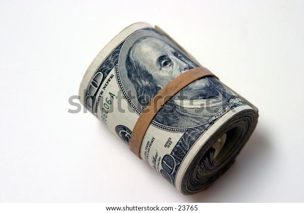 Ten Thousand Dollars American Cash