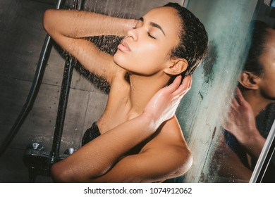 Theme, interesting Nude black african girls in shower sorry, does