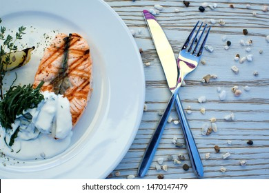 tender salmon dinner salmon red fish sea food atlantic fish