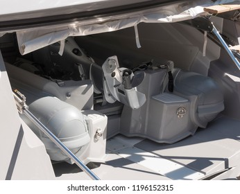 tender for yachts in the garage