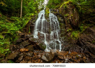 Tendon Waterfalls in the Vosges Mountains, France