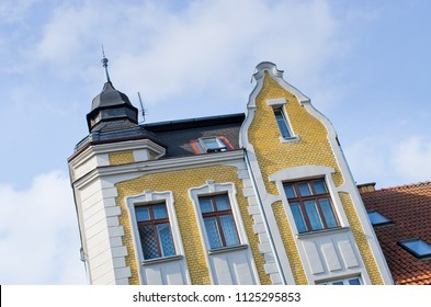 Tenement houses in Mragowo - Poland