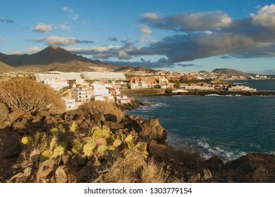 Tenerife, Canary Islands,  Spain. Southern coast view