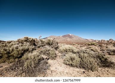 Tenerife landmark volcano of Teide