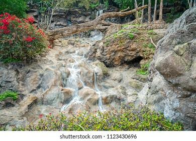 Tenerife park waterfalls