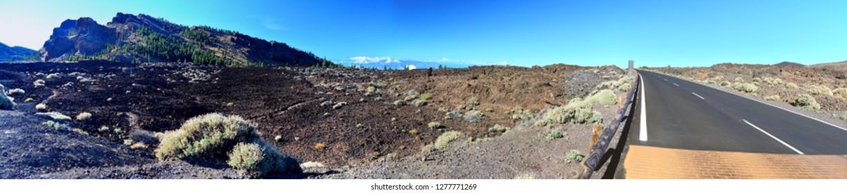Tenerife Teide National Park Panorama