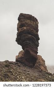 Tenerife, Teide vulcan lava, Roques de García