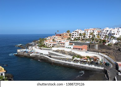 Tenerife view with ocean and buildings