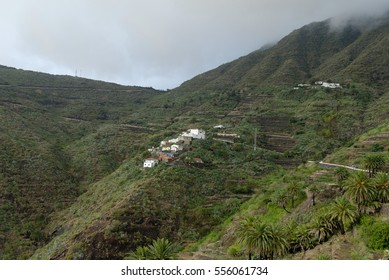 tenerife village in the mountains
