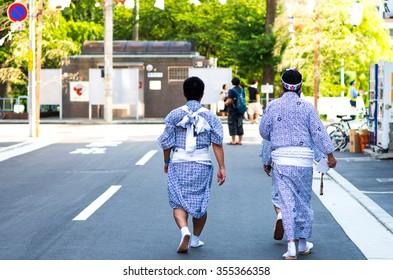 Tenjin festival,osaka,japan