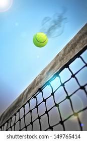 Tennis attack