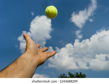 Tennis Ball serve
