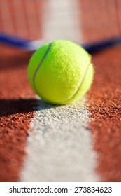Tennis, Tennis Ball, Serving.