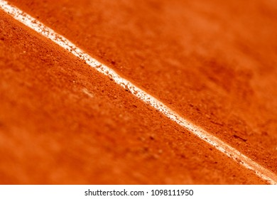 Tennis Clay court, baseline